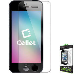 Cellet Ultra-Thin High Transparency Tempered Glass Screen Protector for Apple iPhone 5/5s/5c (0.3mm) - Mobile Accessories USA