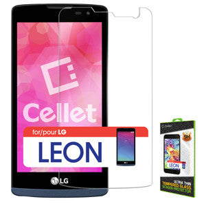 Cellet Premium Tempered Glass Screen Protector for LG Risio / Leon(0.3mm) - Mobile Accessories USA