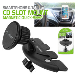 Cellet Extra Strength Magnetic (with Quick-Snap Technology) CD Slot Phone Holder for Smartphones - Mobile Accessories USA