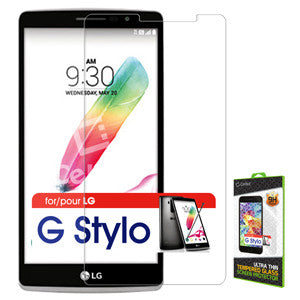 Cellet Premium Tempered Glass Screen Protector for LG G Stylo (0.3mm) - Mobile Accessories USA