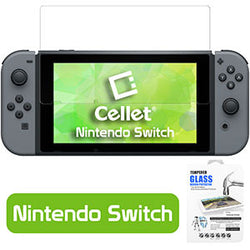 High Definition Tempered Glass Screen Protector for Nintendo Switch (0.3mm) - Mobile Accessories USA