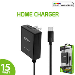 Cellet High Powered 3A 15W USB Type-C Home Charger for LG G5, Nexus 5X, Nexus 6P, Nokia Lumia 950/950 XL, OnePlus 2, Samsung Galaxy S8 - Mobile Accessories USA