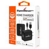 High Power USB Home Charger, CyonGear 2.1A/10W USB Home Charger (USB-C Cable Included) - Mobile Accessories USA