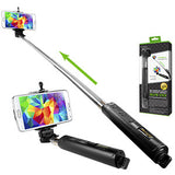 Extendable Wireless Self Portrait Selfie Handheld Monopod for Smartphones and Cameras - Mobile Accessories USA