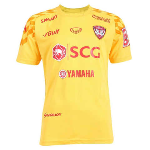 Muangthong United Goalkeeper Kit 2018 - Yellow - thaifutbol