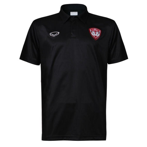 Muangthong United Polo - Black - thaifutbol