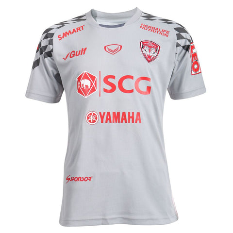 Muangthong United Away Kit 2018 - White - thaifutbol