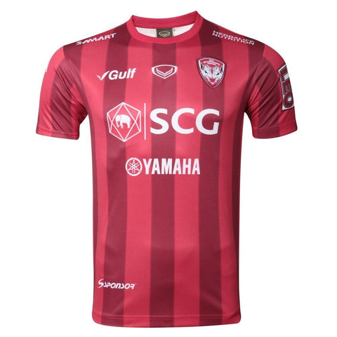 Muangthong United Home Kit 2018 (Fan grade) - Red - thaifutbol