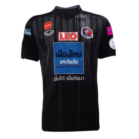 Thai Port F.C. Away Kit 2018 - Black - thaifutbol