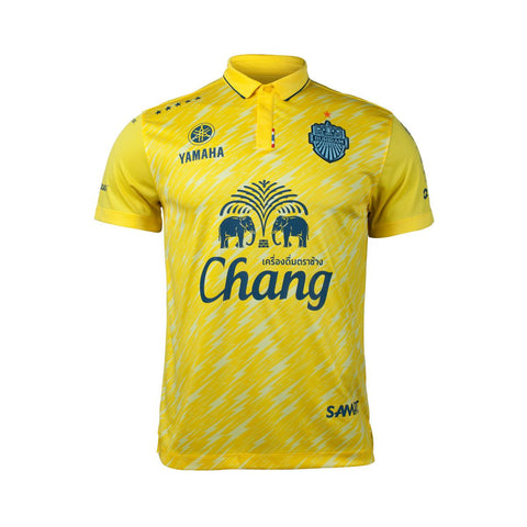 Buriram United 2018 Away Kit - Yellow - thaifutbol