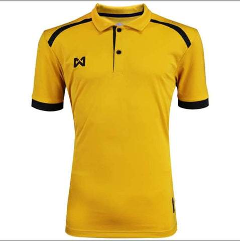 Warrix Prisca Polo - Yellow - thaifutbol