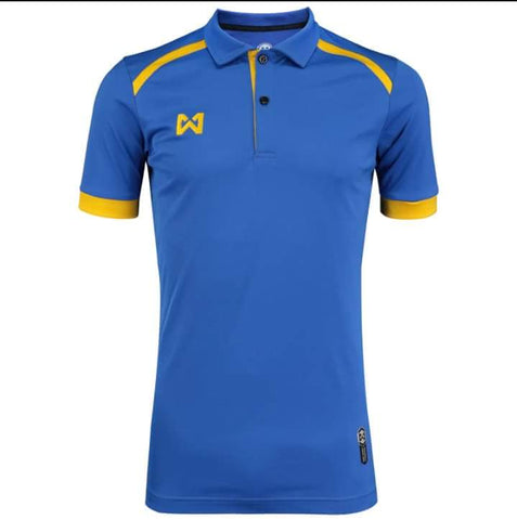 Warrix Prisca Polo - Blue - thaifutbol