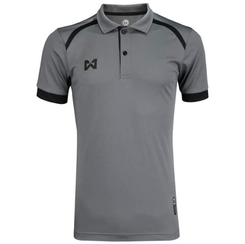 Warrix Prisca Polo - Grey - thaifutbol