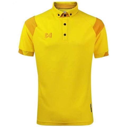 Warrix Fausta Polo - Yellow - thaifutbol
