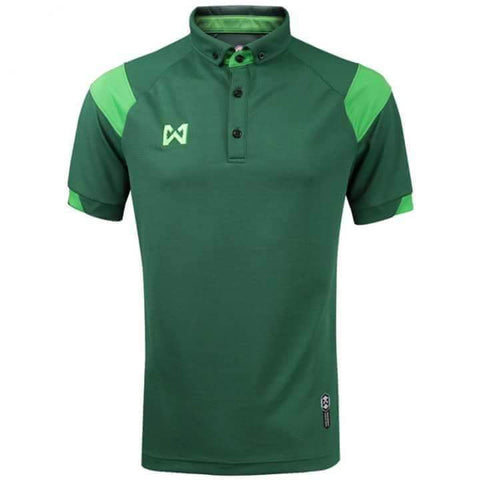 Warrix Fausta Polo - Green - thaifutbol