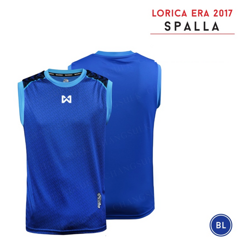 Warrix  Spalla Sleeveless Shirts - Blue - thaifutbol