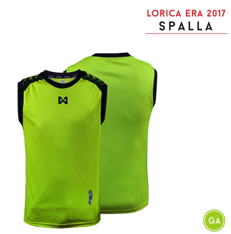 Warrix  Spalla Sleeveless Shirts - Light Green - thaifutbol