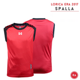 Warrix  Spalla Sleeveless Shirts - Red - thaifutbol
