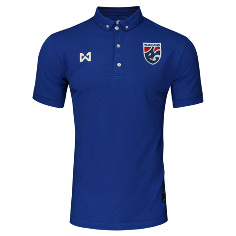 Thailand National Team Polo 2018 - Blue - thaifutbol