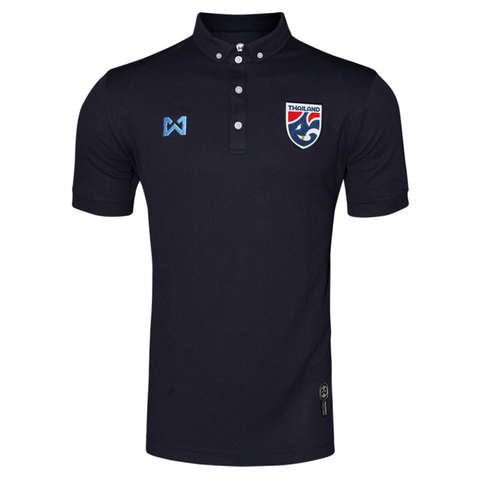 Thailand National Team Polo 2018 - Dark Blue - thaifutbol