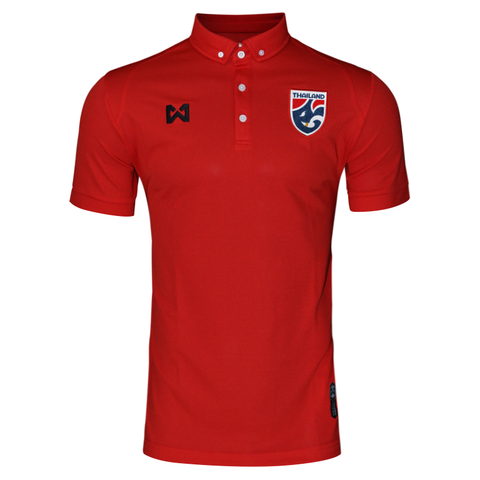 Thailand National Team Polo 2018 - Red - thaifutbol