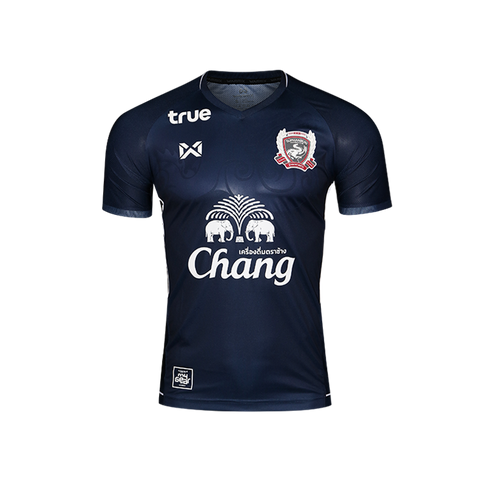 Suphanburi FC 2018 Home Kit- Dark Blue - thaifutbol