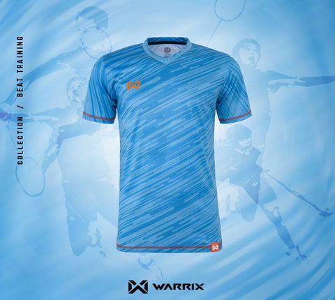 Warrix Badminton Shirt - blue - thaifutbol