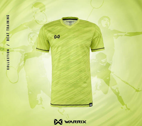 Warrix Badminton Shirt - Light green - thaifutbol