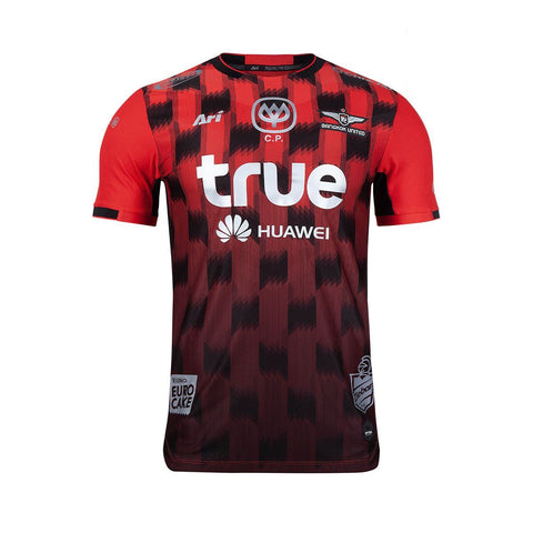 Bangkok United 2019 Home Kit (Player Grade) - Red - thaifutbol