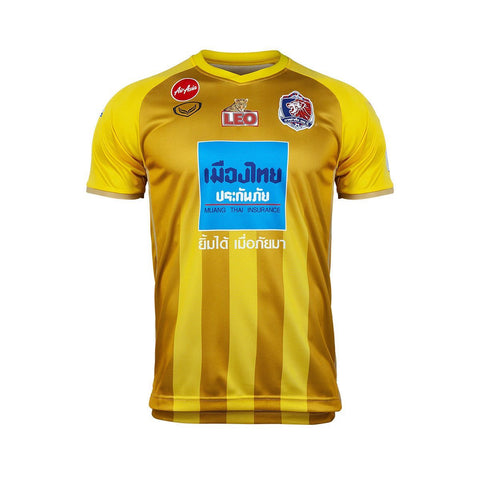 Thai Port F.C. Third Kit 2019 - Yellow - thaifutbol