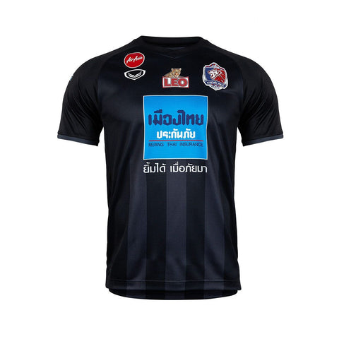 Thai Port F.C. Away Kit 2019 - Black - thaifutbol