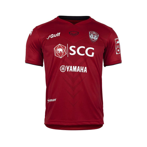 Muangthong United Home Kit 2019- Red - thaifutbol