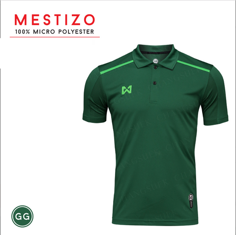 Warrix Mestizo Polo - Green - thaifutbol
