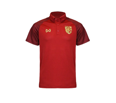 Thailand National Team Polo 2018 (Limited Edition) - Red - thaifutbol
