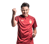[SALE] Thailand National Soccer Team Away Jersey 2018 - Red - thaifutbol