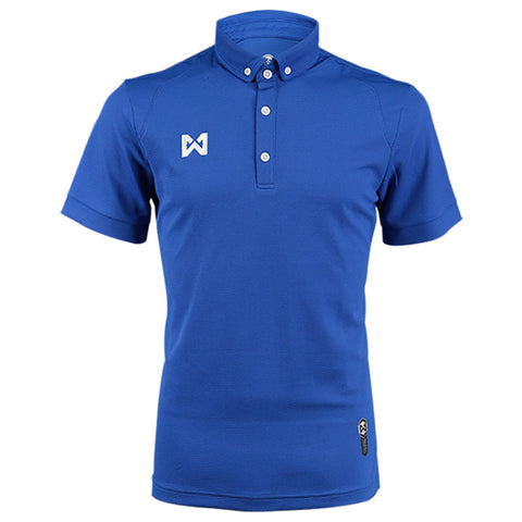 Warrix Polo Scale Armor  - Blue - thaifutbol