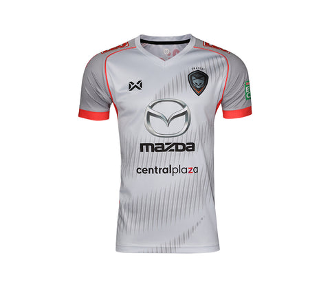 Nakhon Ratchasima 2018 Away Kit- White - thaifutbol
