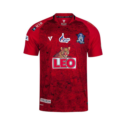 Chiangmai FC 2019 Home Kit - Red - thaifutbol