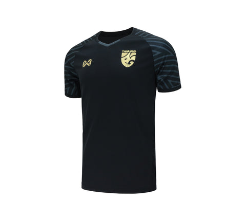 Thailand National Team Cheer Jersey 2018 - Black - thaifutbol