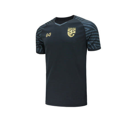Thailand National Team Cheer Jersey 2018 - Grey - thaifutbol