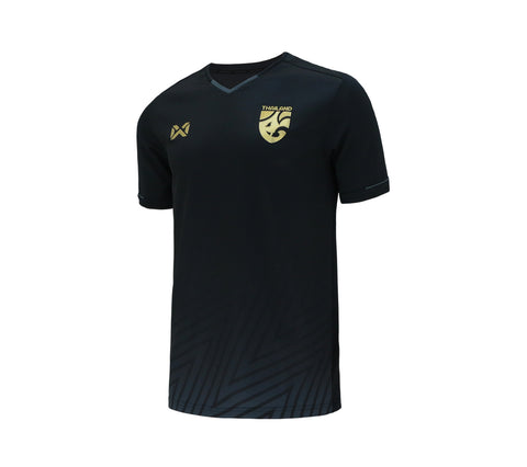 Thailand National Team Cheer Jersey 2018 Version 2 - Black - thaifutbol