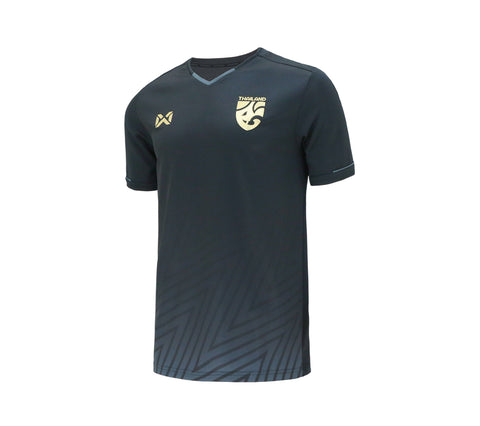 Thailand National Team Cheer Jersey 2018 Version 2 - Dark grey - thaifutbol