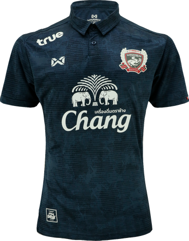 Suphanburi FC Home Kit 2019 - Dark Blue - thaifutbol