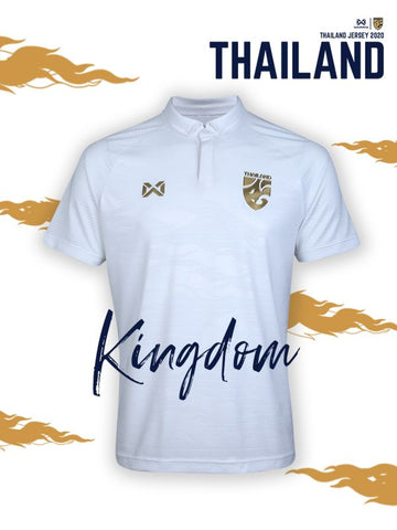 Thailand National Soccer Team Jersey 2020 - White - thaifutbol