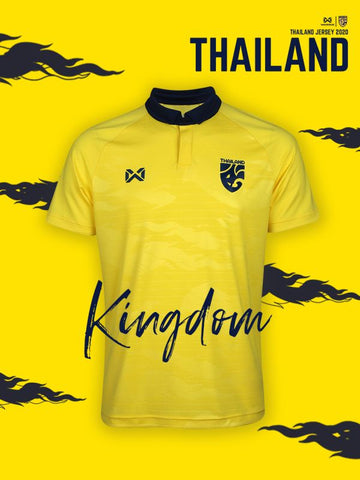 Thailand National Soccer Team Jersey 2020 - Yellow - thaifutbol