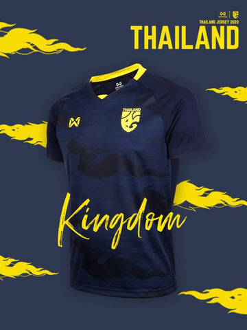 Thailand National Team Cheer Jersey 2020 - Dark Blue - thaifutbol