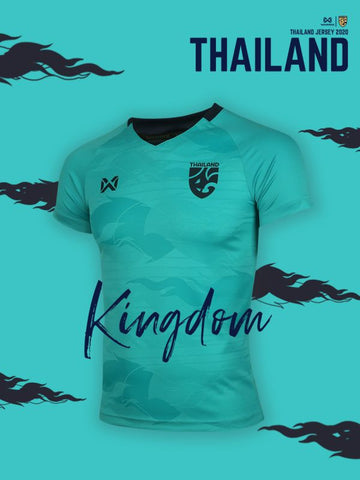 Thailand National Team Goalkeeper Cheer Jersey 2020 - Light Green - thaifutbol