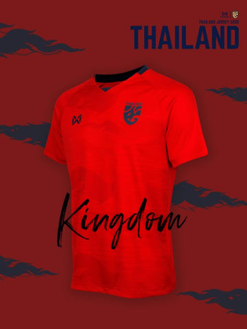 Thailand National Team Cheer Jersey 2020 - Red - thaifutbol