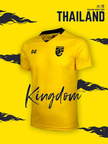 Thailand National Team Cheer Jersey 2020 - Yellow - thaifutbol