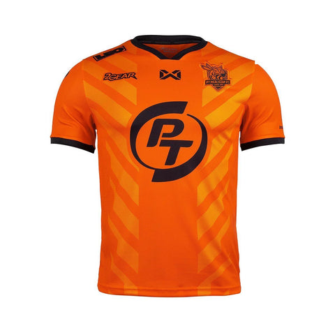 PT Prachuap FC 2019 Home Kit - Orange - thaifutbol